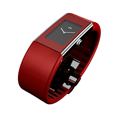 弗來明 Watch Ⅱ方形指針系列腕錶(S、紅)
